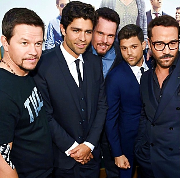 Entourage, movie, premiere, Mark Wahlberg, Jeremy Piven
