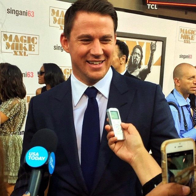 Magic Mike XXL, Channing Tatum, red carpet