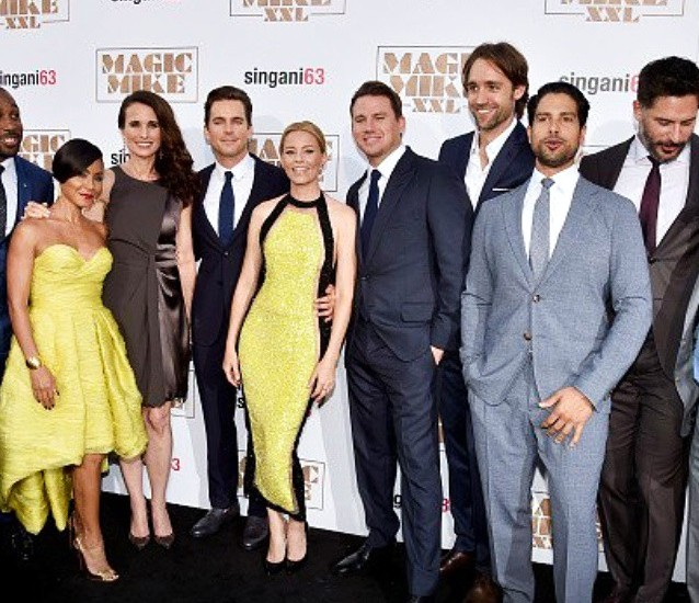 Magic Mike XXL, cast