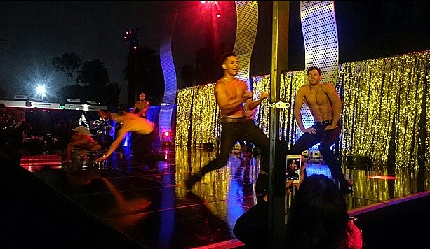 Magic Mike XXL, male dancer, after party
