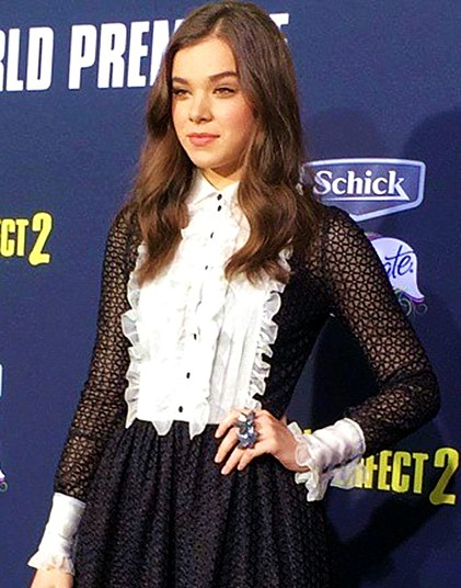 RED HOT ROSTER April 15, Hailee Steinfeld