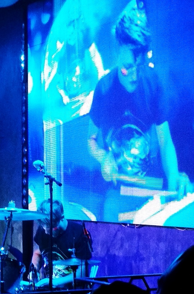 Robert Delong, drummer, lexus