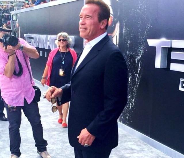 Terminator Genisys, Arnold Schwarzenegger, LA, premeire, red carpet