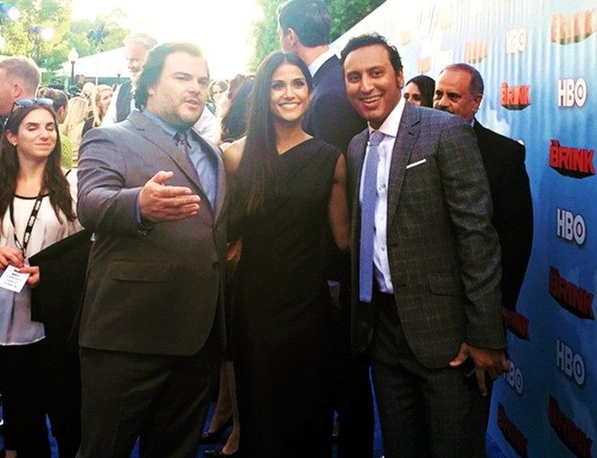 The Brink, HBO, Jack Black, Melanie Kannokada, Aasif Mandvi