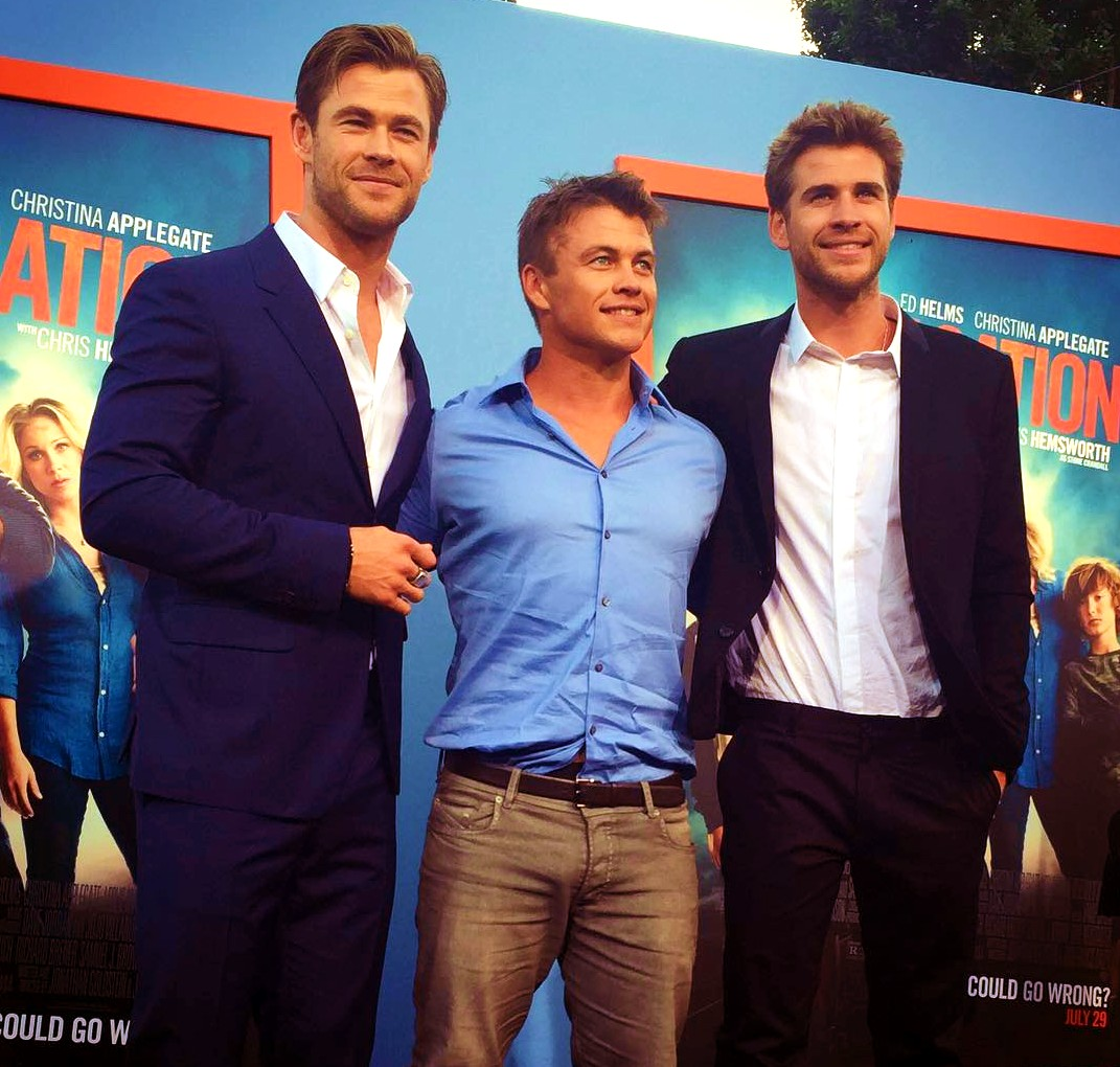 Chris Hemsworth, Luke Hemsworth, Liam Hemsworth, Vacation, movie