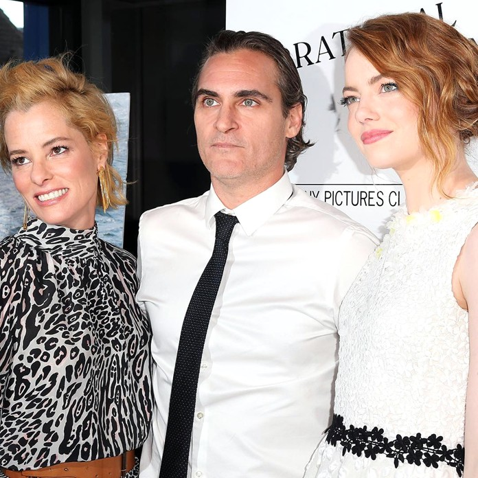 Irrational Man, premiere, Parkey Posey, Joaquin Phoenx, Emma Stone