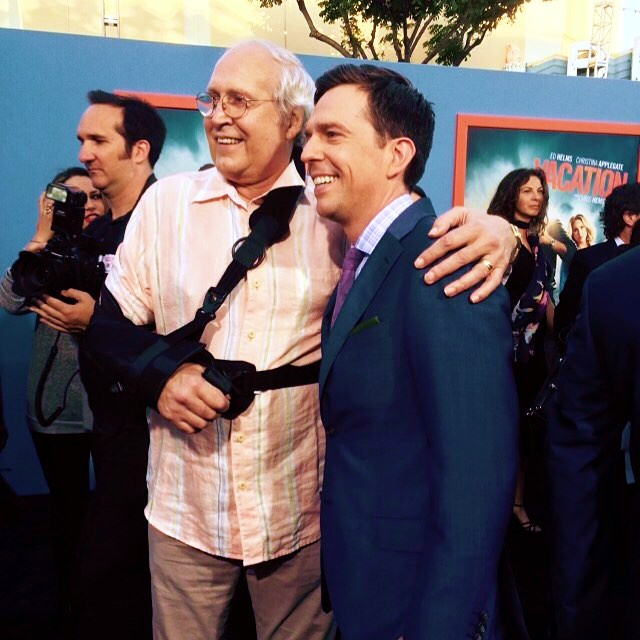 Vacation movie, Chevy Chase, Ed Helms, premiere