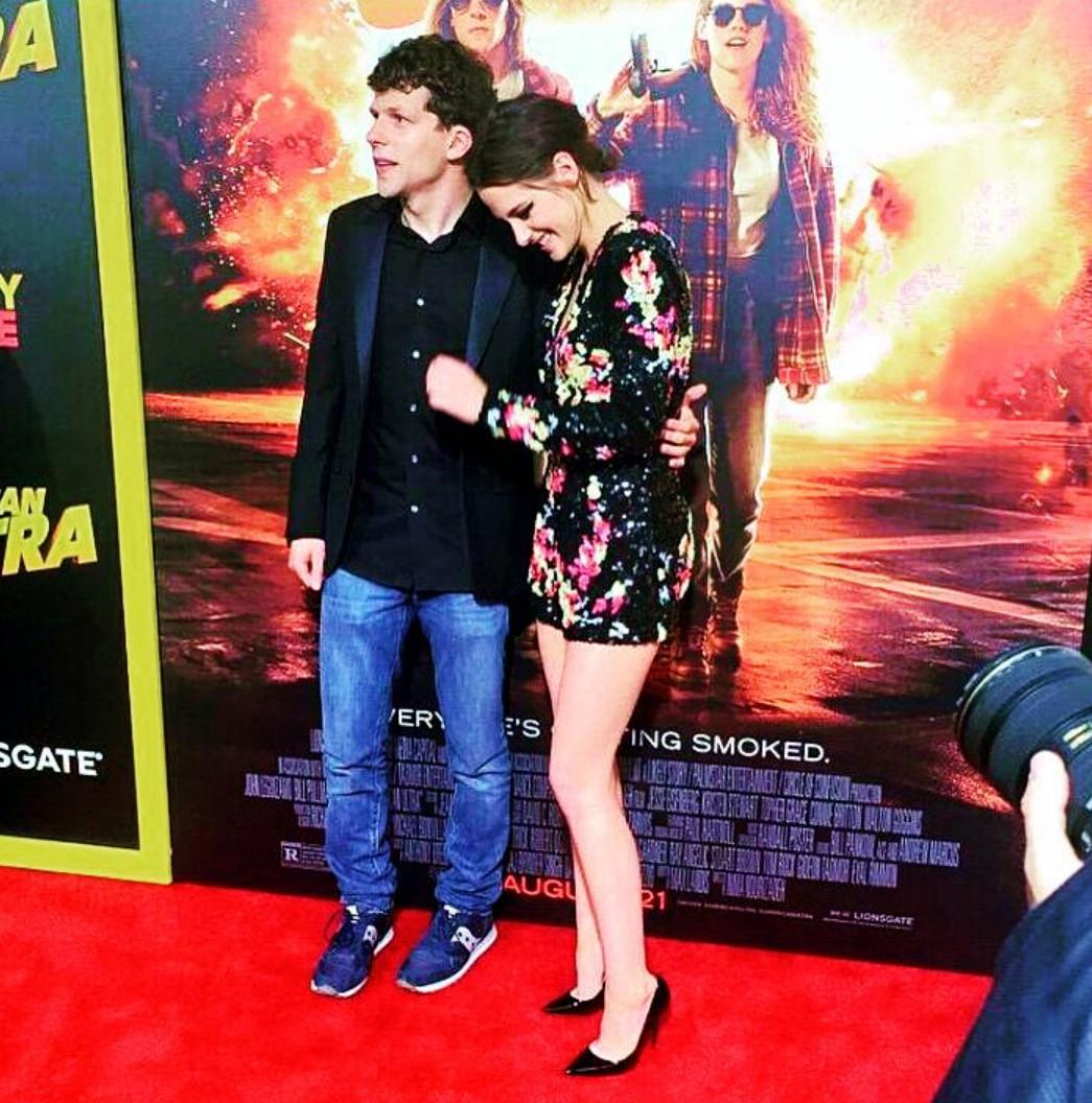 American Ultra, Jesse Eisenberg, Kristen Stewart, red carpet