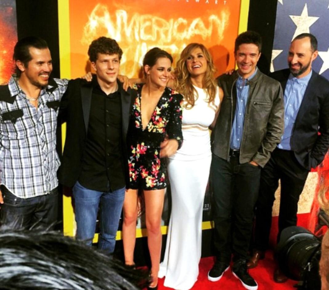 American Ultra, John Leguizamo, Jesse Eisenberg, Kristen Stewart, Topher Grace