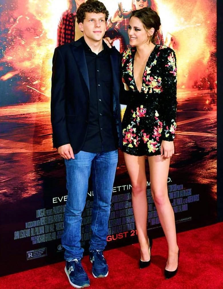 American Ultra, premiere, Jesse Eisenberg, Kristen Stewart