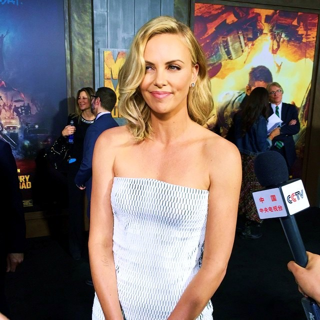 RED HOT ROSTER June 2015, Charlize Theron