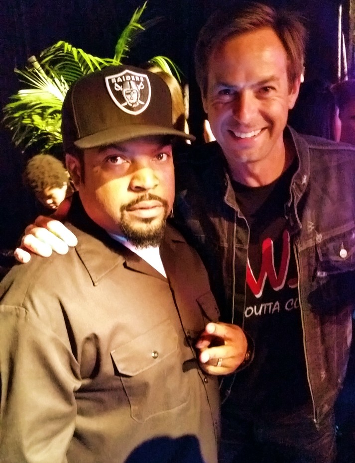 Straight Outta Compton, Ice Cube, after party, Heinz Haas