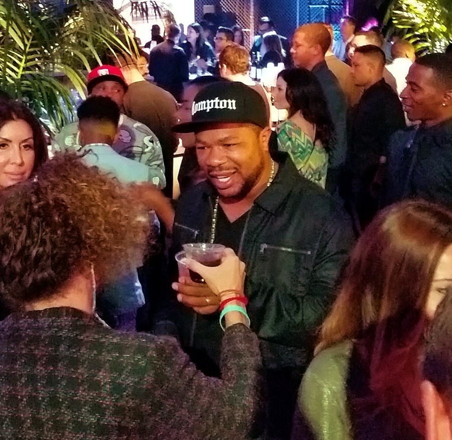 Straight Outta Compton, Xzibit, after party