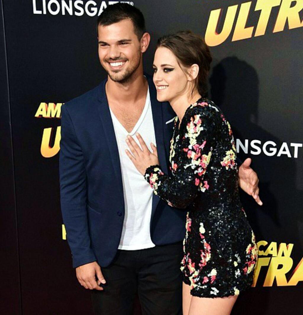 Taylor Lautner, Kristen Stewart, American Ultra