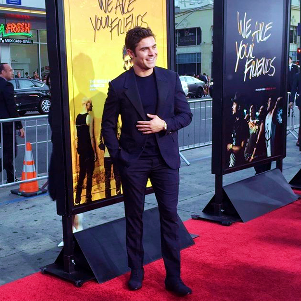 We Are Your Friends, Zac Efron, red carpet, premiere