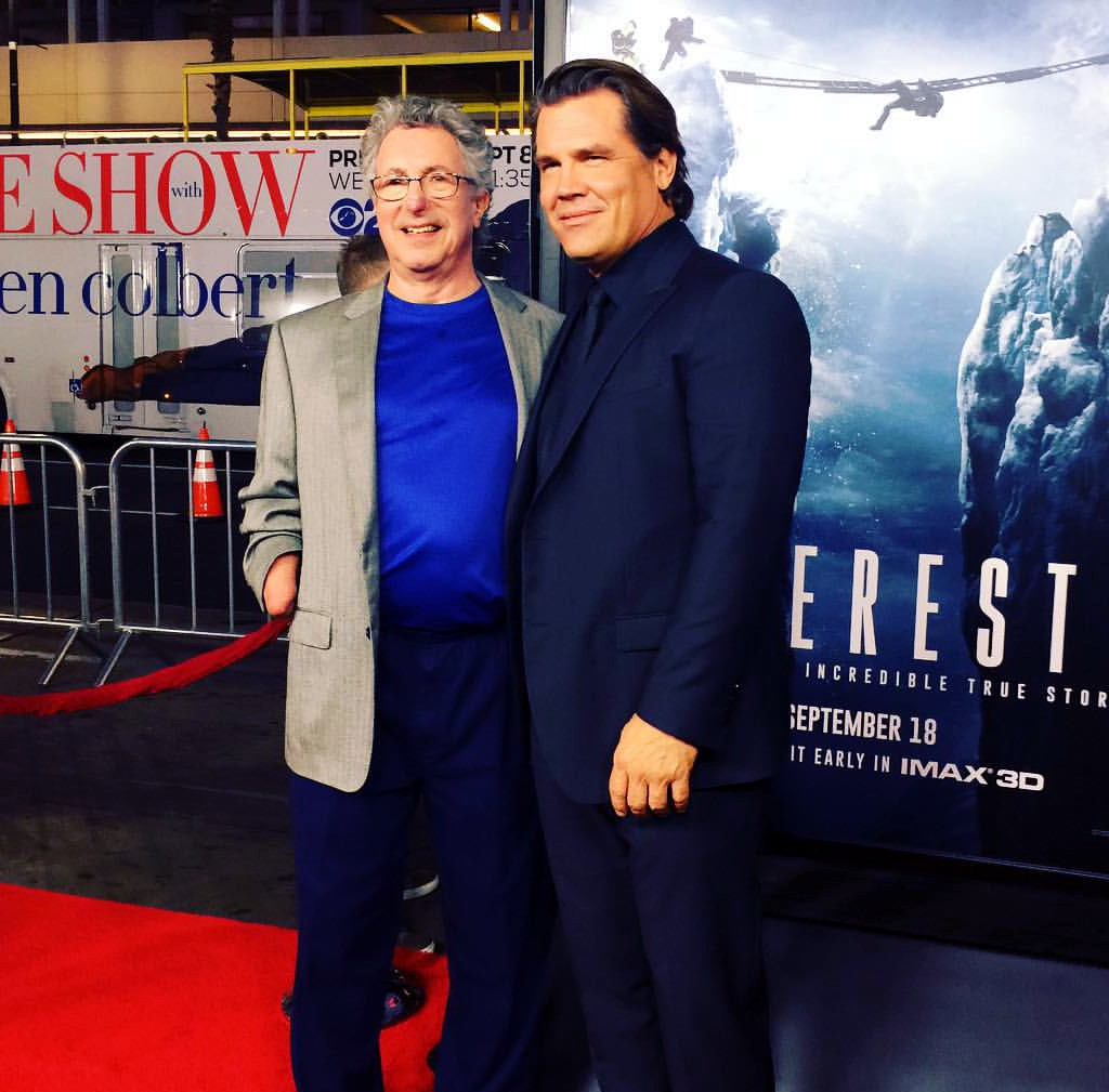 Everest, movie premiere, Dr Beck Weathers, Josh Brolin