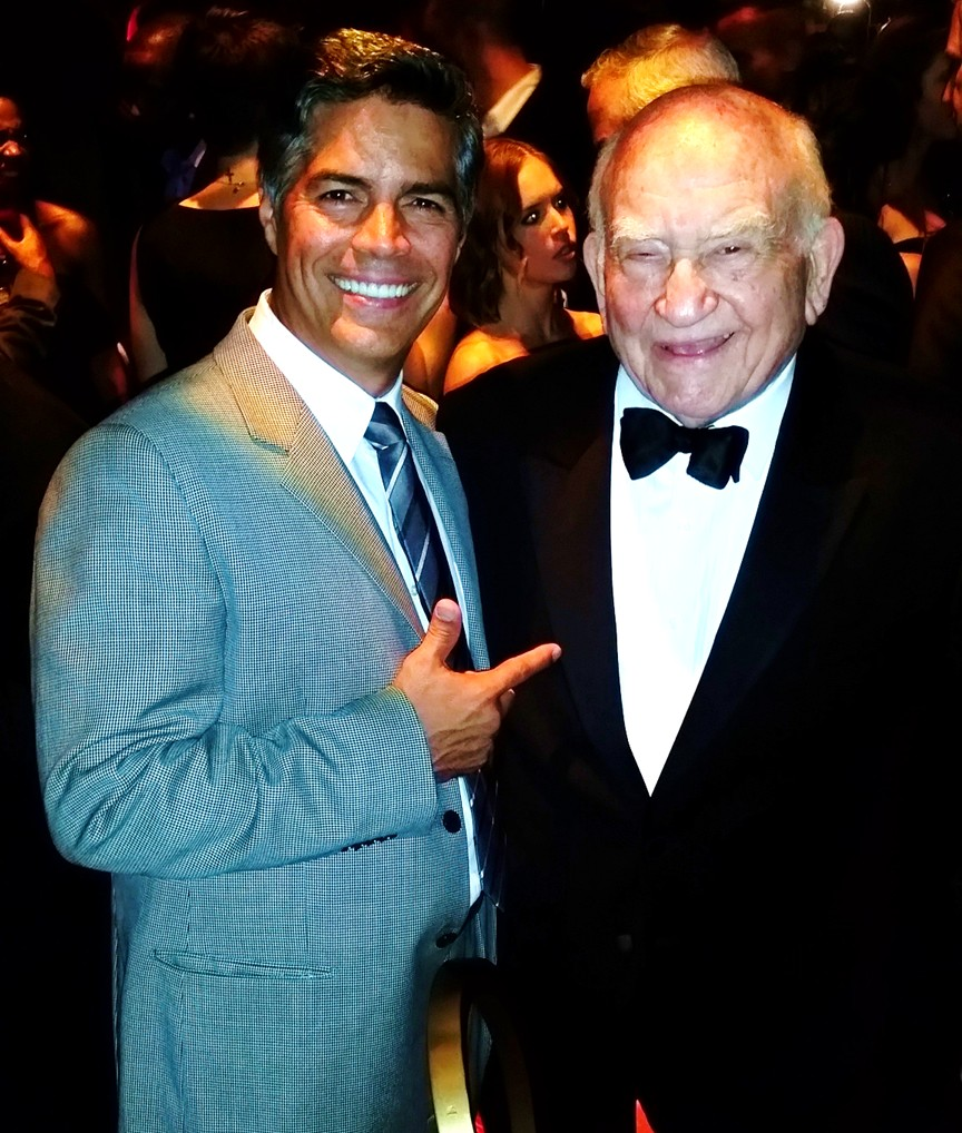 HBO Emmy Party 2015, Esai Morales, Ed Asner