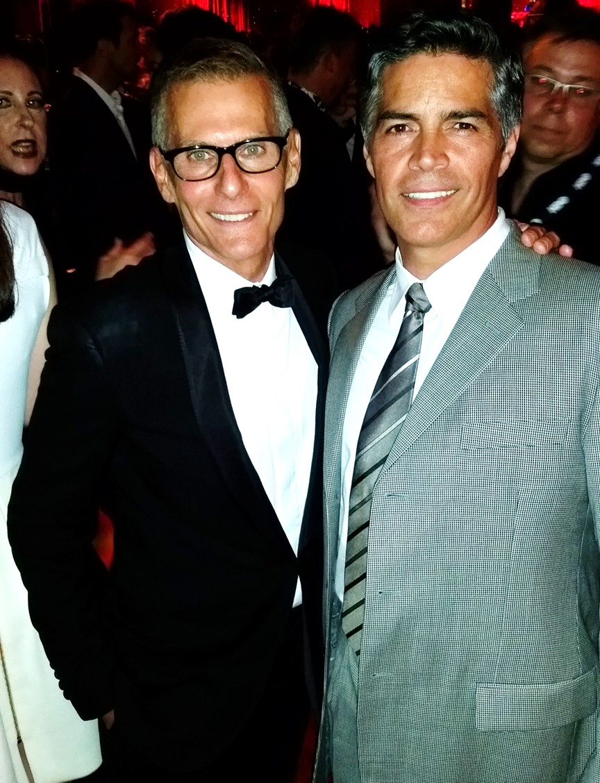 HBO Emmy Party 2015, Michael Lombardo, Esai Morales