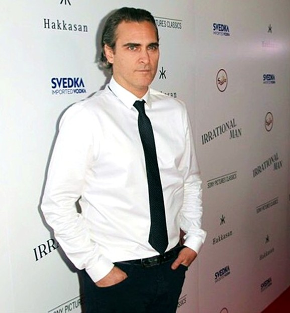 THE RED HOT ROSTER JULY 2015 Joaquin Phoenix