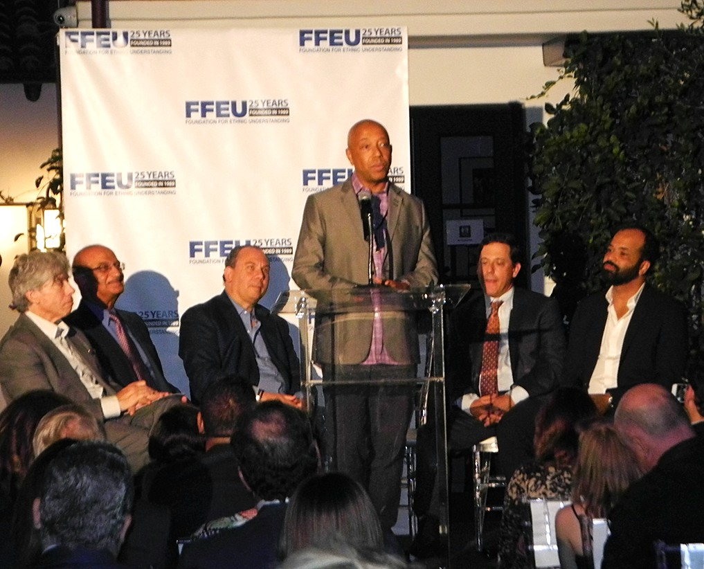 FFEU, Russell Simmons, Jeffrey Wright