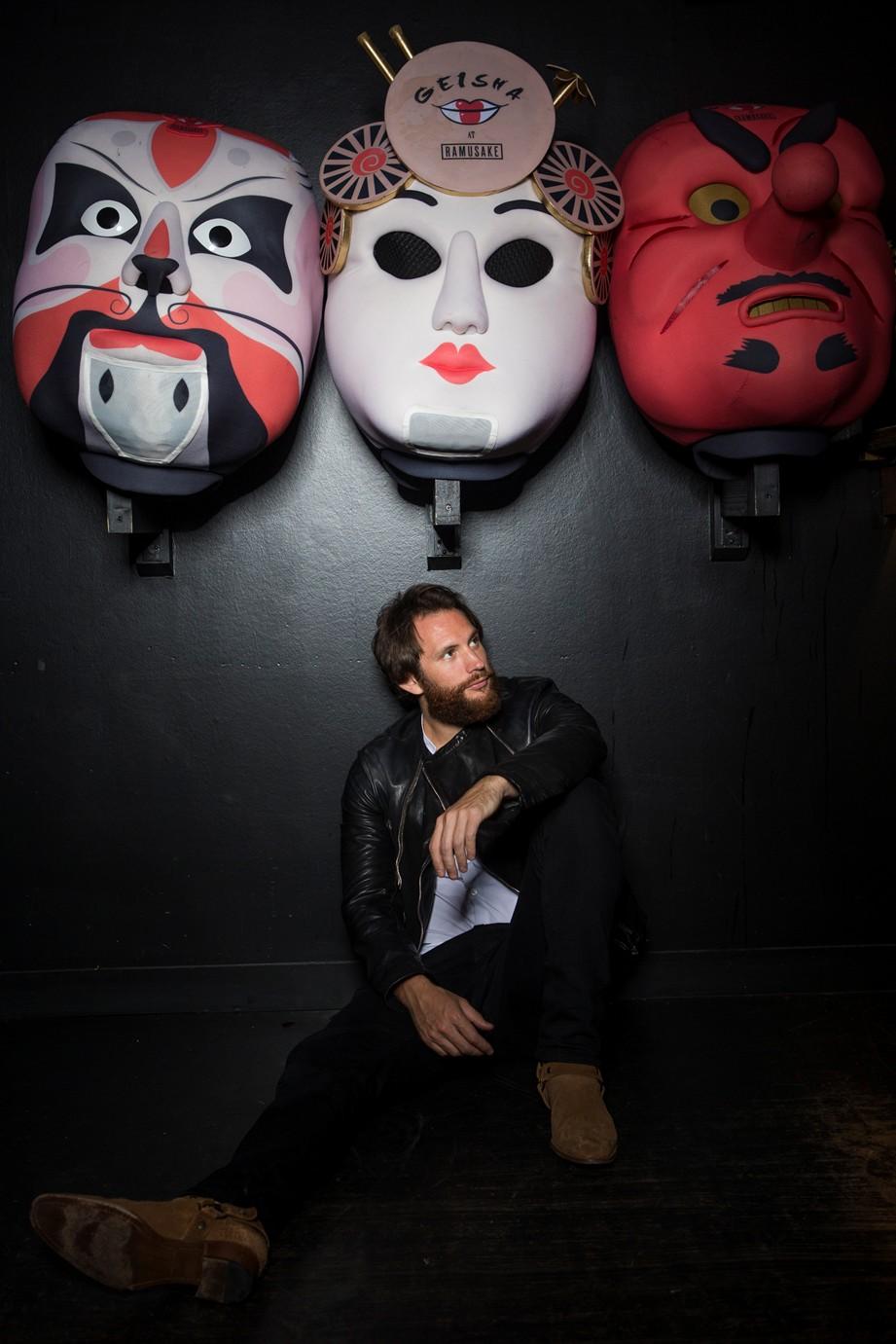 Marc Geisha below masks