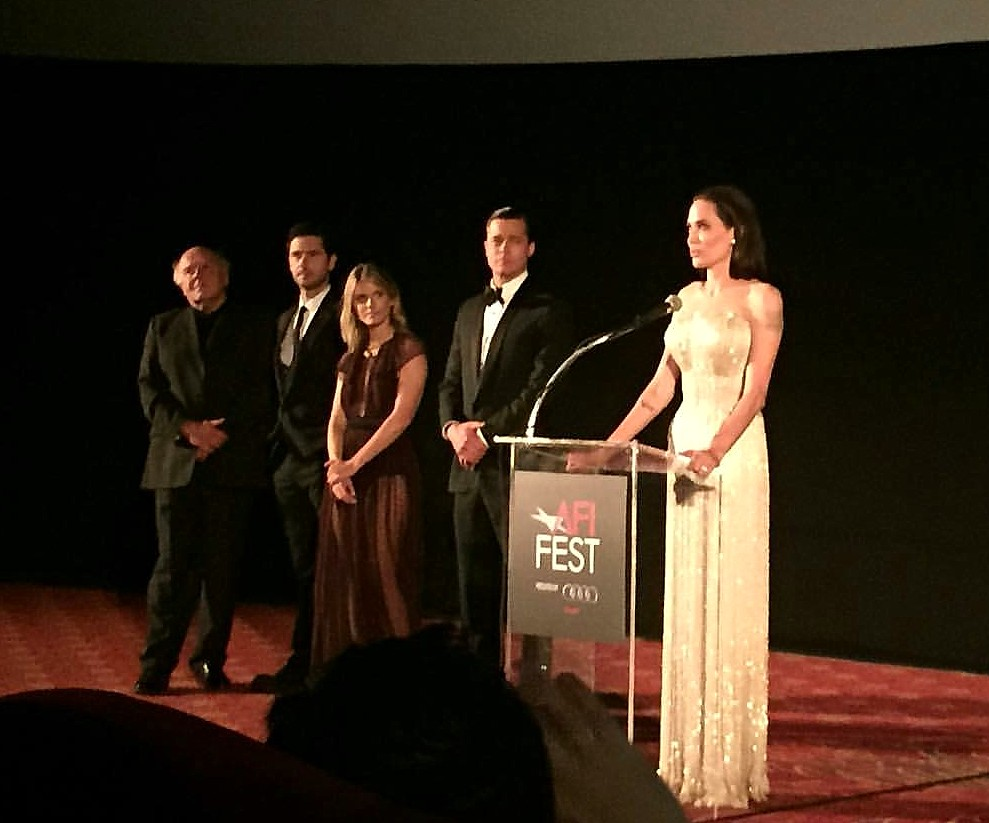 By The Sea, Brad Pitt, Angelina Jolie, AFI Fest