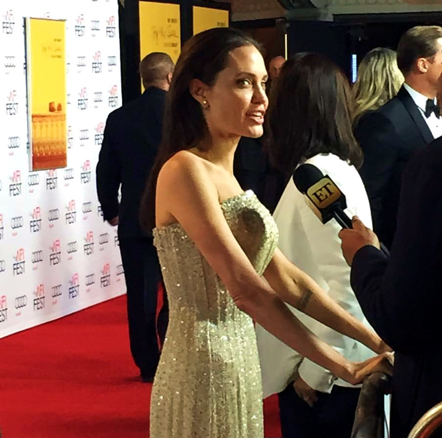 By The Sea, Los Angeles, AFI Festival, Angelina Jolie