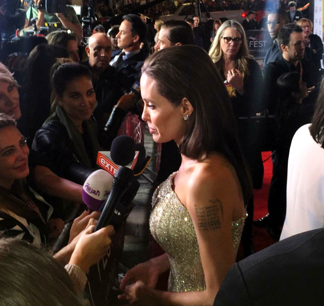 By The Sea, premiere, Angelina Jolie, AFI Festival