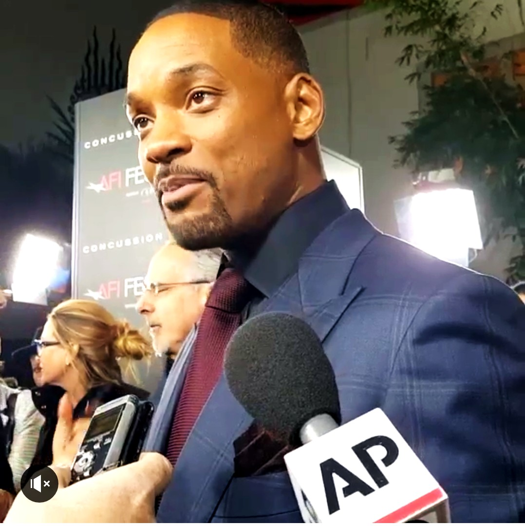 Concussion, movie premire, AFI, Will Smith, red carpet