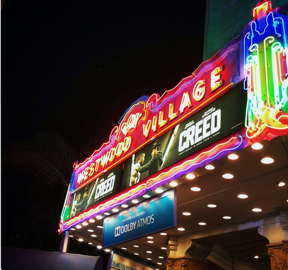 Creed movie premiere, red carpet