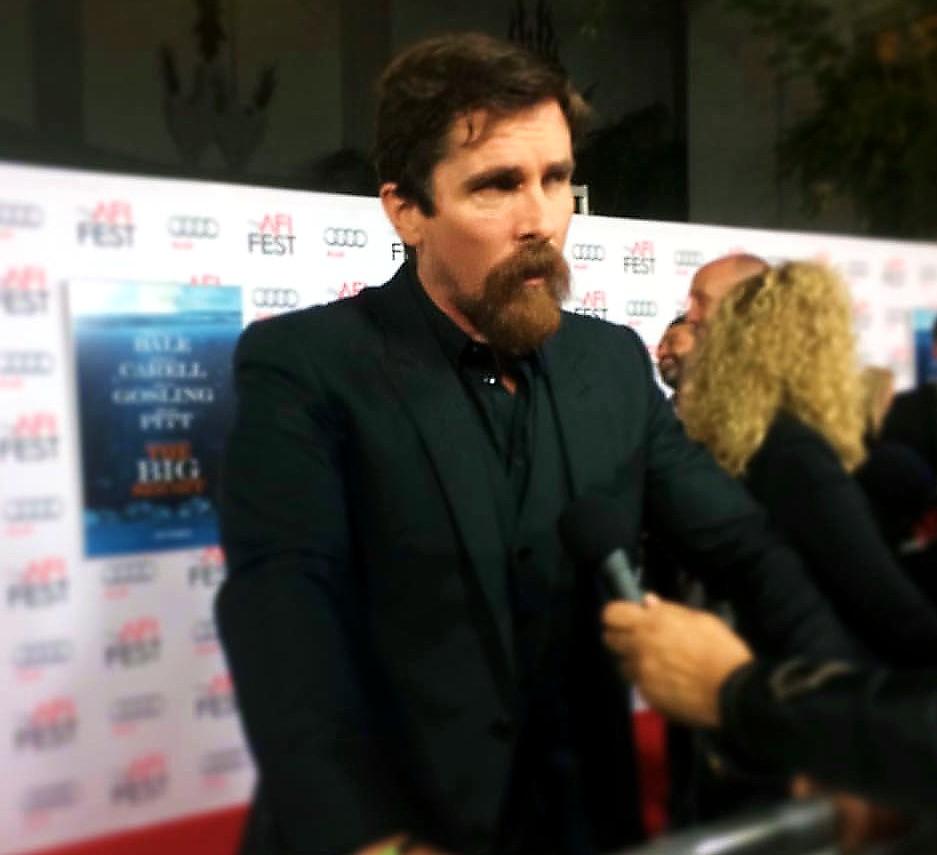 The Big Short, Christian Bale, AFI Festival, movie premiere
