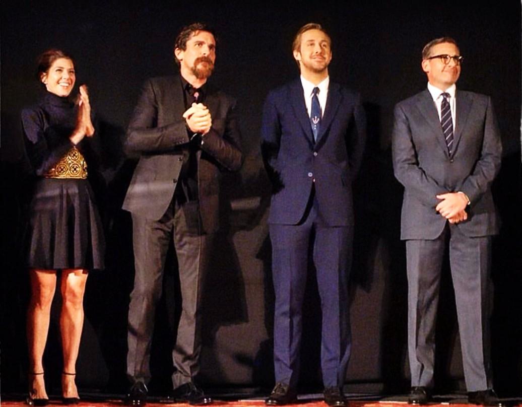 The Big Short, Marisa Tomei, Christian Bale, Ryan Gosling, Steve Carell