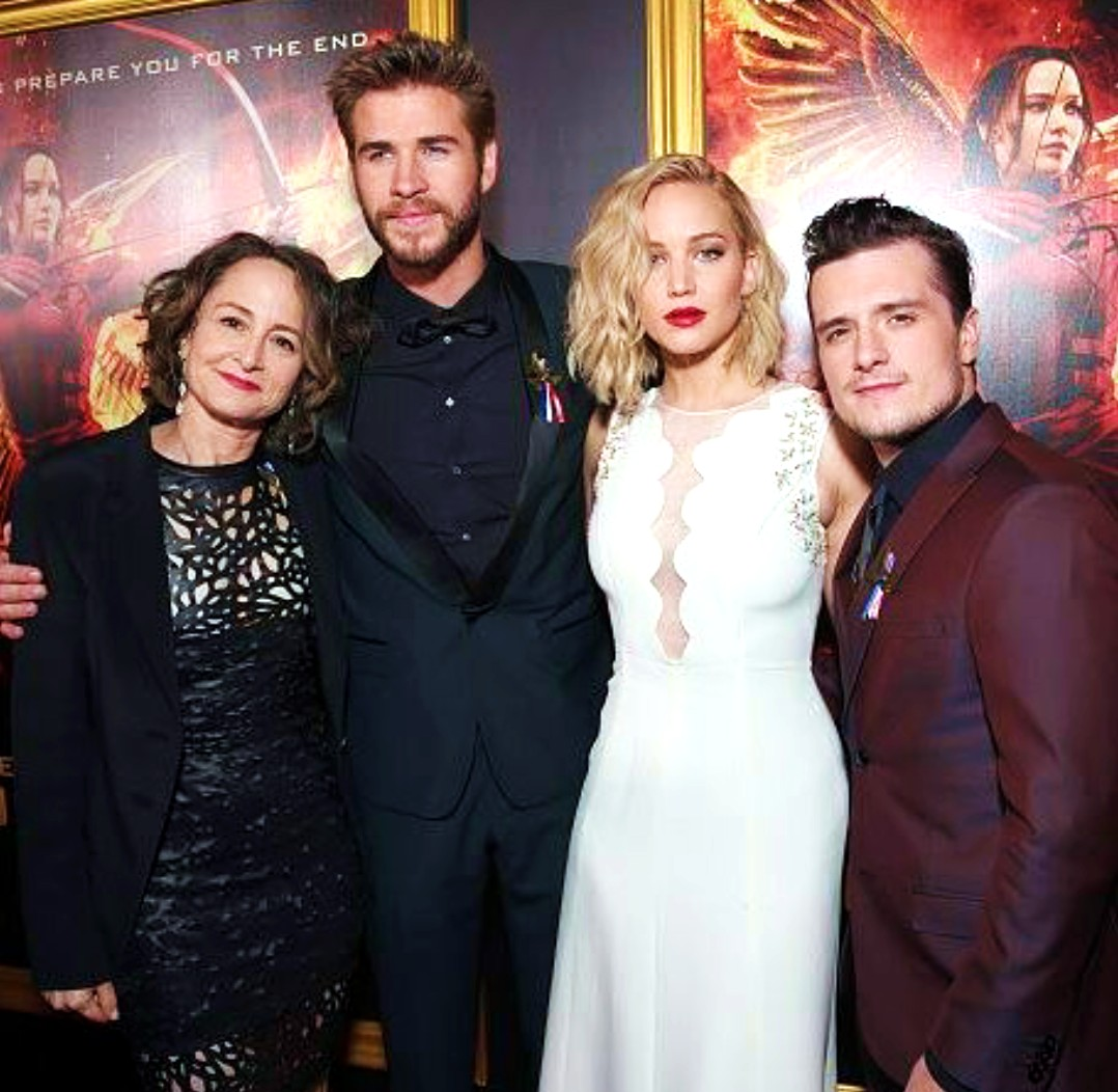The Hunger Games Mockingjay part 2, Liam Hemsworth, Jennifer Lawrence, Josh Hutcherson