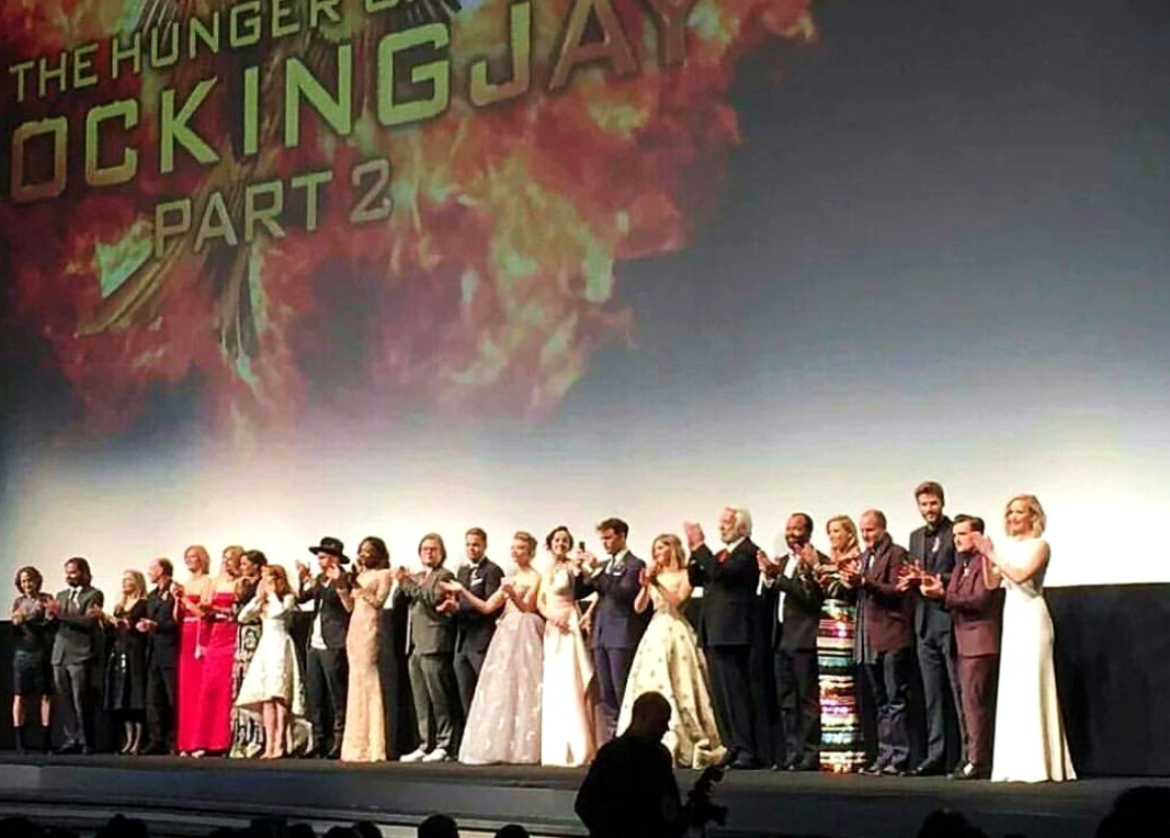 The Hunger Games Mockingjay part 2, movie cast