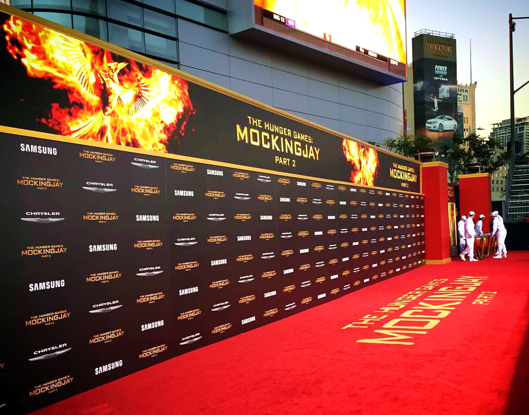 The Hunger Games Mockingjay part 2, red carpet