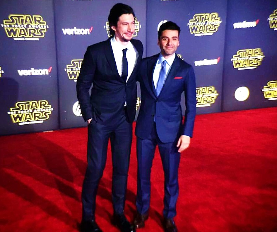 Star Wars, The Force Awakens, Adam Driver, Oscar Isaac