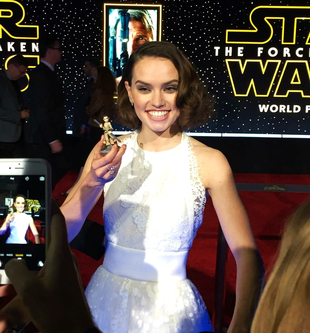Star Wars, The Force Awakens, Daisy Ridley