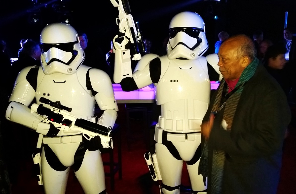 Star Wars, The Force Awakens, Quincy Jones