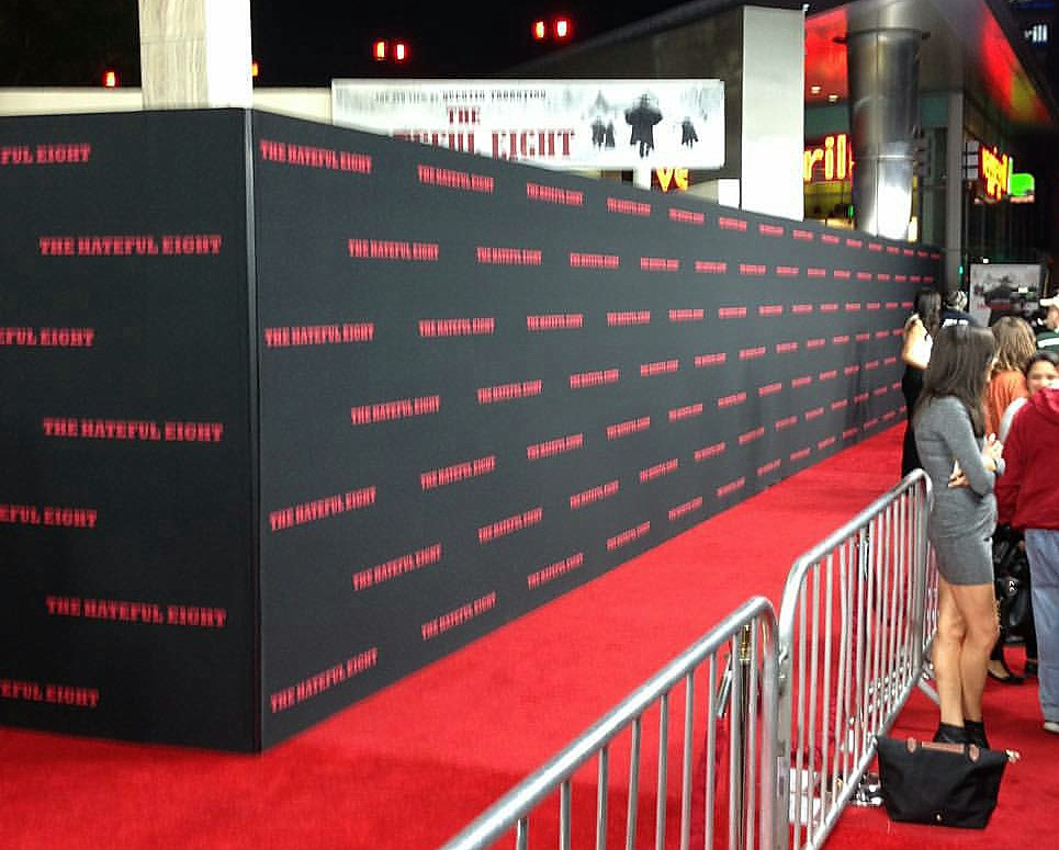 The Hateful Eight, LA premiere