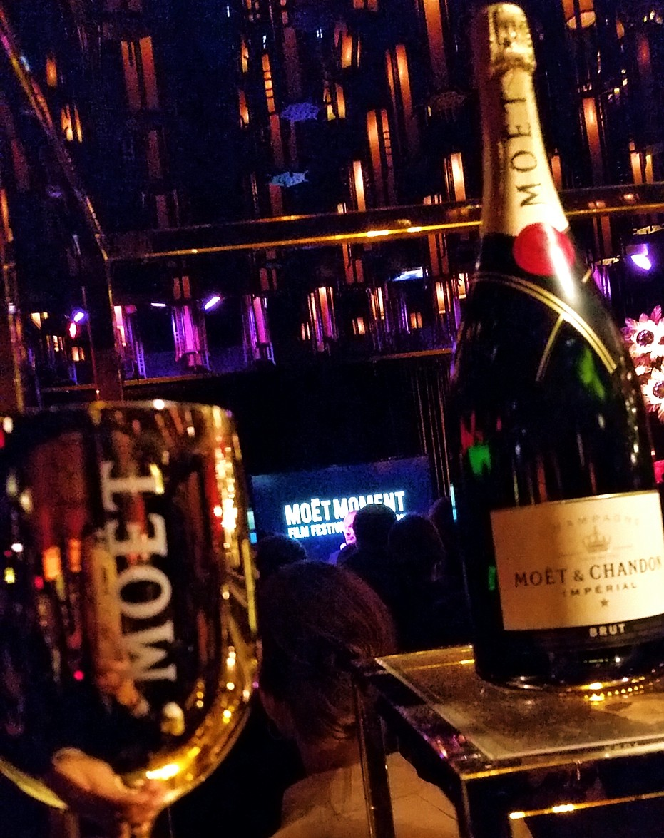 Golden Globes Moet Chandon party