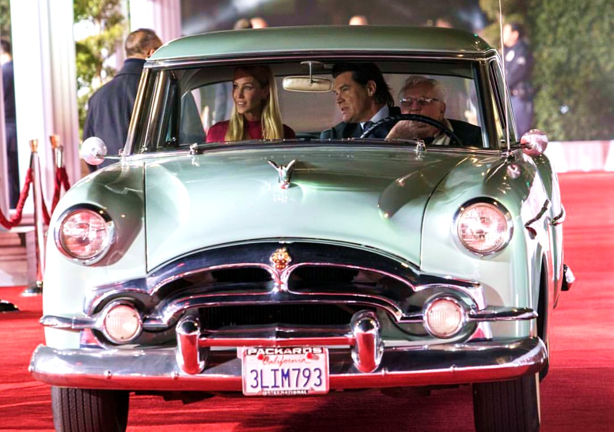 Hail Caesar, Josh Brolin, red carpet arrival