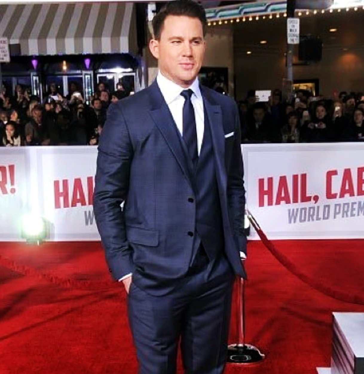 Hail Caesar, movie premiere, Channing Tatum