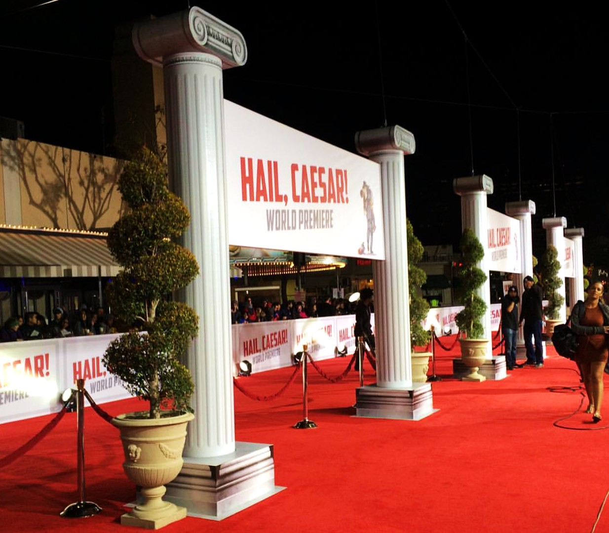 Hail Caesar, movie premiere, red carpet