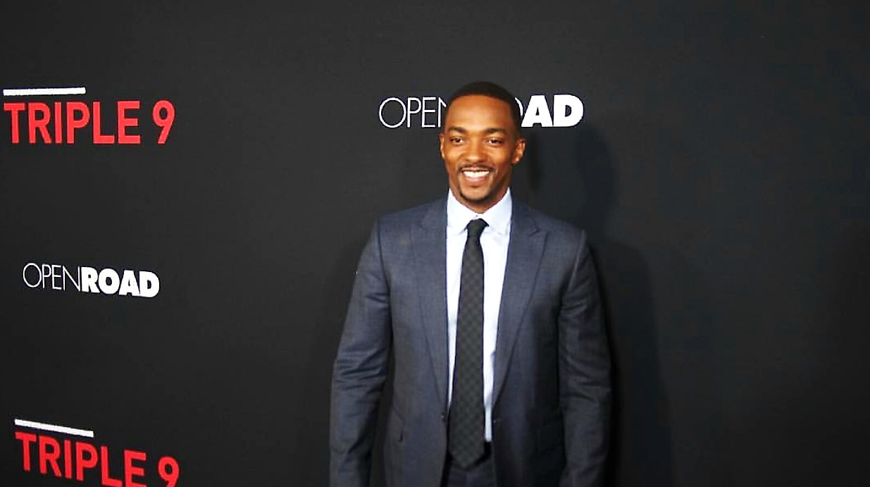 Triple 9, movie premiere, Anthony Mackie