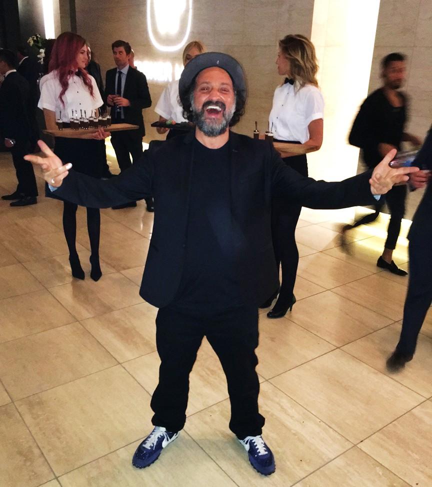 Warner Music Grammy Party 2016, Mr. Brainwash, Thierry