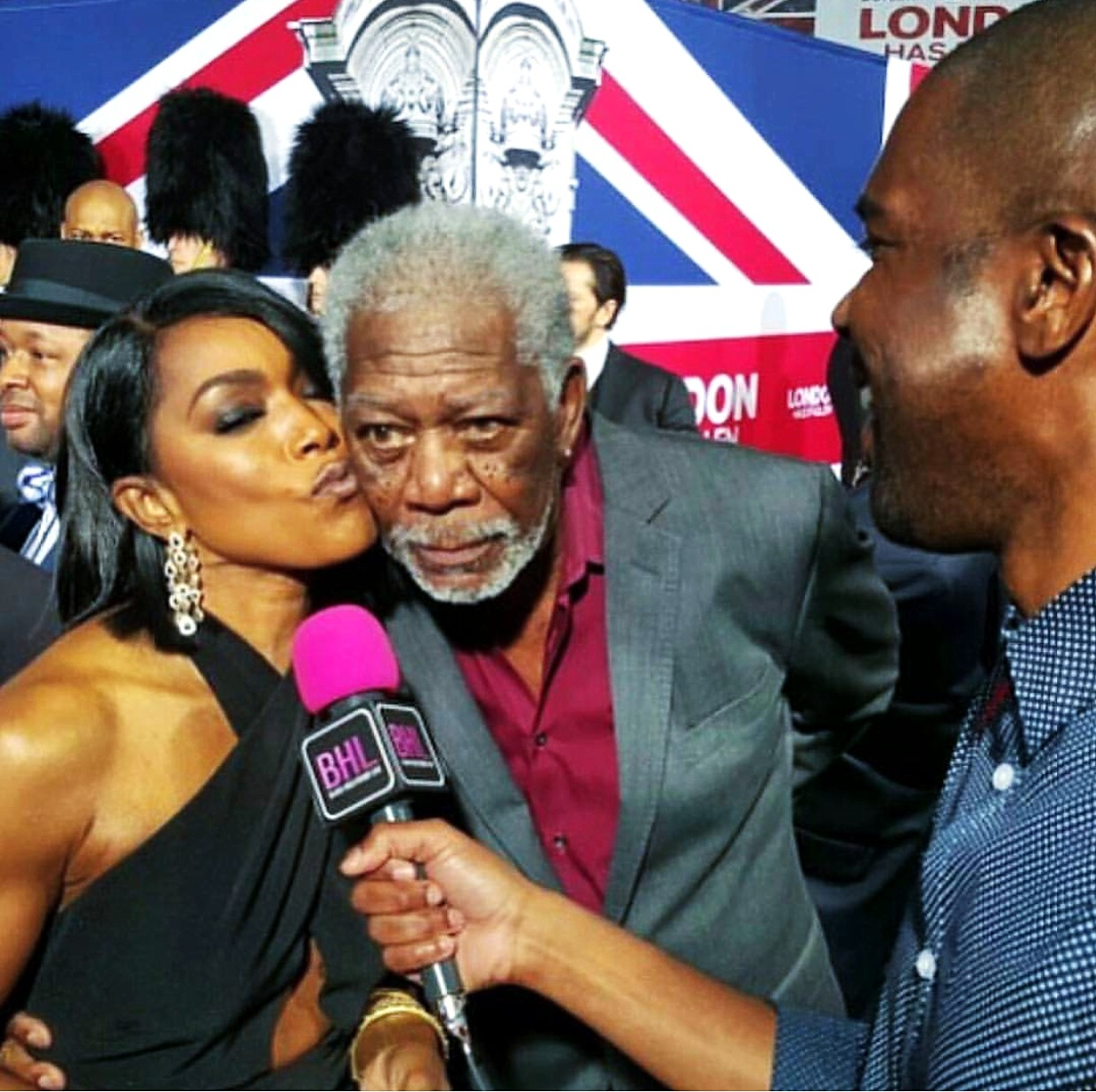 London Has Fallen, Angela Bassett, Morgan Freeman