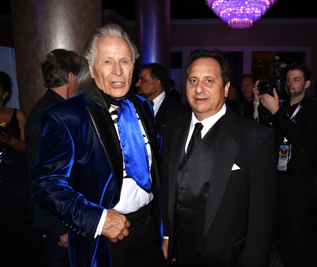 Night of 100 Stars, Peter Nygard, Richard Walters