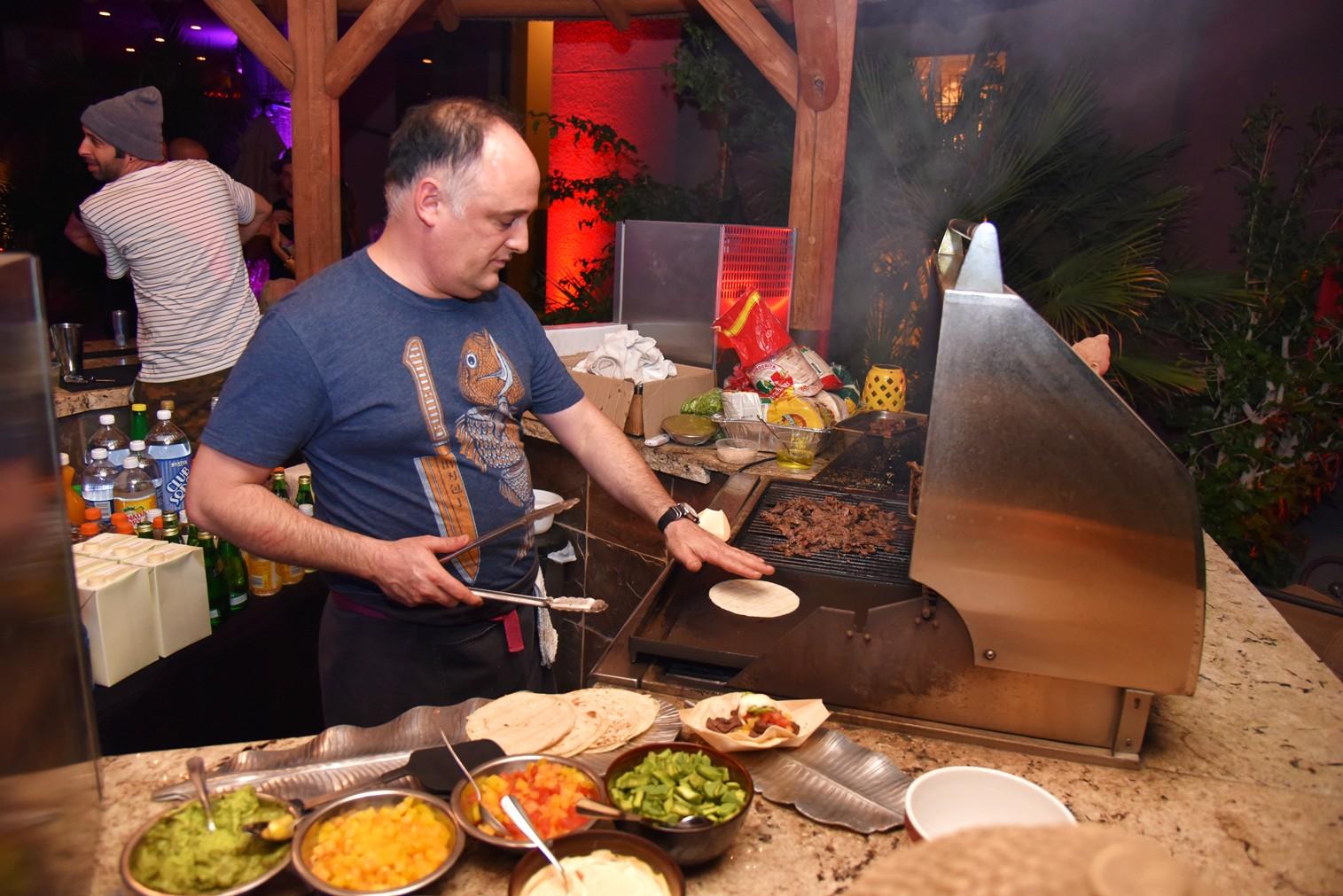 Bob Zangrillo party, Coachella, chef