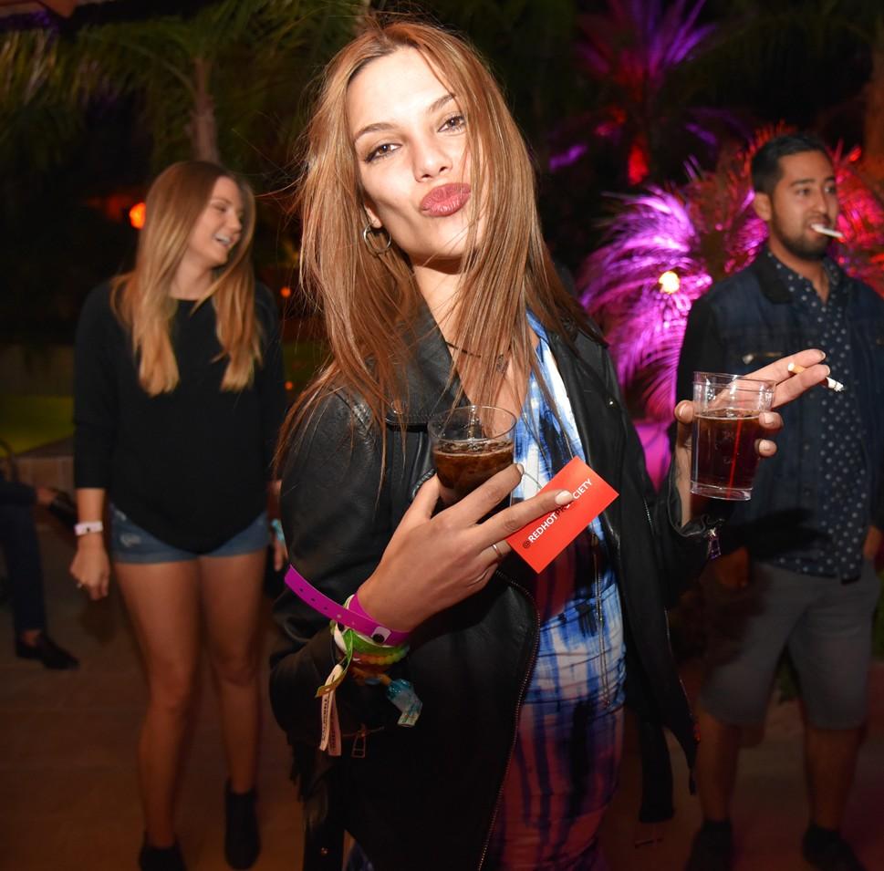 Bob Zangrillo party, Coachella, spanish girl