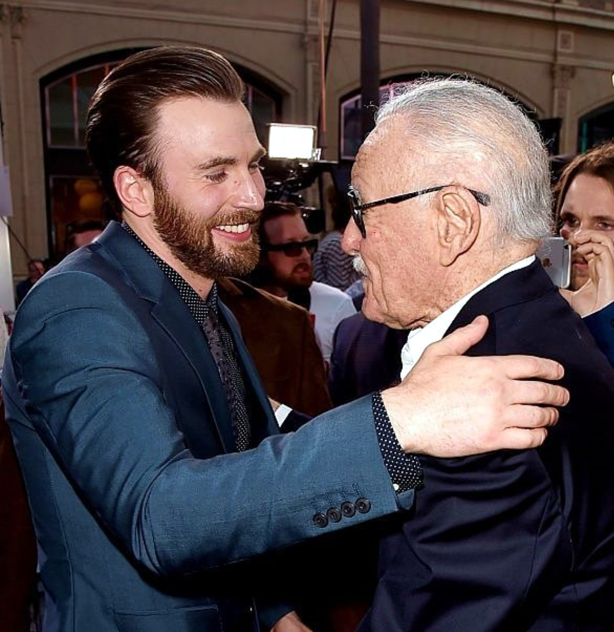 Captain America Civil War, Chris Evans, Stan Lee